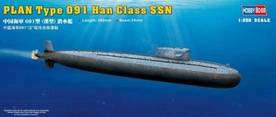 Hobby Boss - PLAN Type 091 Han Class Submarine