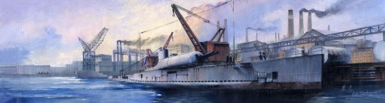 Hobby Boss - French Surcouf Submarine Cruiser