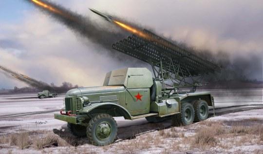 Hobby Boss - Russian BM-13