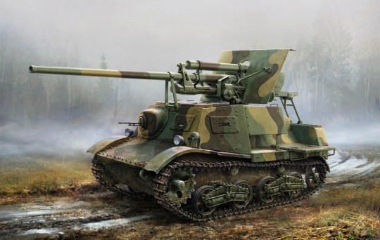 Hobby Boss - Soviet ZIS-30 Light Self-Propelled Anti- -Tank Gun