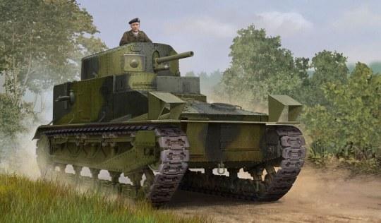 Hobby Boss - Vickers Medium Tank MK I