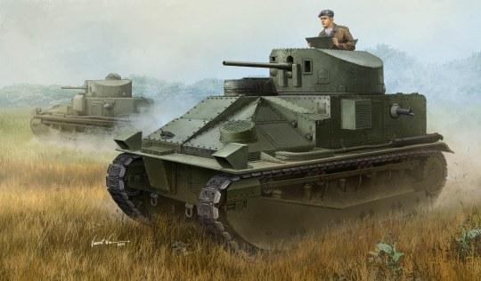 Hobby Boss - Vickers Medium Tank MK II