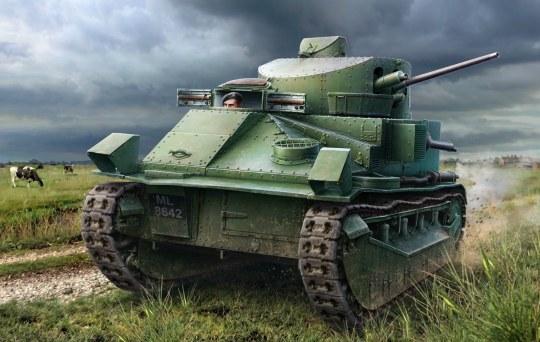 Hobby Boss - Vickers Medium Tank Mk II*