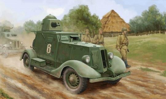 Hobby Boss - Soviet BA-20 Armored Car Mod.1937