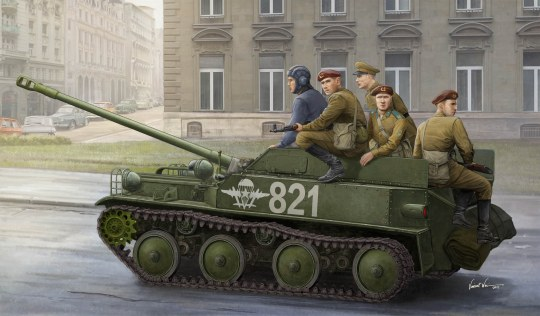 Hobby Boss - Russian ASU-57 Airborne Tank Destroyer