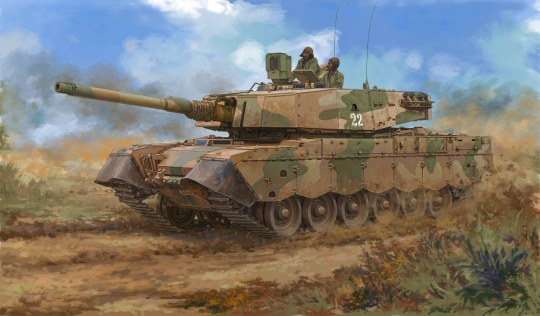 Hobby Boss - South African Olifant MK2 MBT