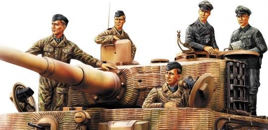 Hobby Boss - German Panzer Tank Crew (Normandy 1944)