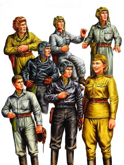 Hobby Boss - Russian Tank Crew