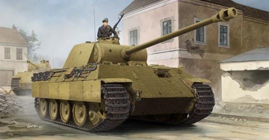Hobby Boss - German Sd.Kfz.171 PzKpfw Ausf A