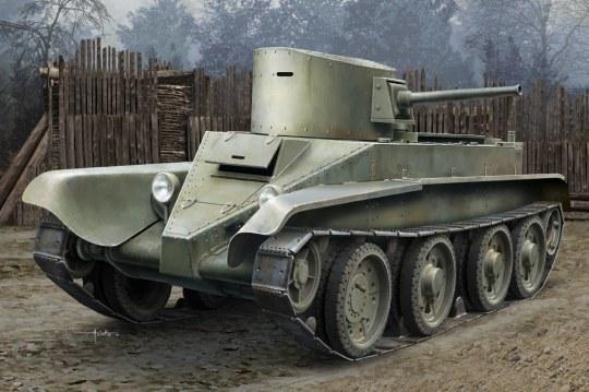 Hobby Boss - Soviet BT-2 Tank (early version)