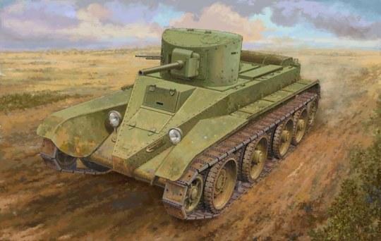 Hobby Boss - Soviet BT-2 Tank (medium)
