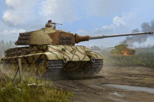 Hobby Boss - Pz.Kpfw.VI Sd.Kfz.181 Tiger II(Henschel