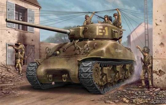 Hobby Boss - U.S M4A1 76(W) TANK