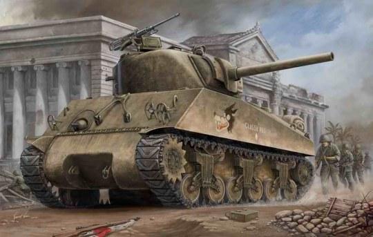 Hobby Boss - U.S M4A3  TANK