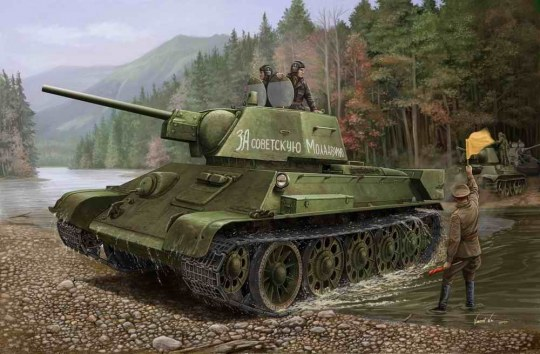 Hobby Boss - Russian T-34/76 (1943 No.112)Tank