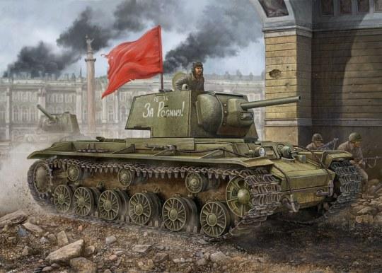 Hobby Boss - Russian KV-1 1942 Simplified Turret tank