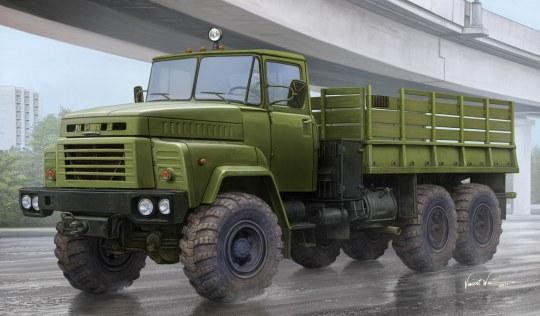 Hobby Boss - Russian KrAZ-260 Cargo Truck