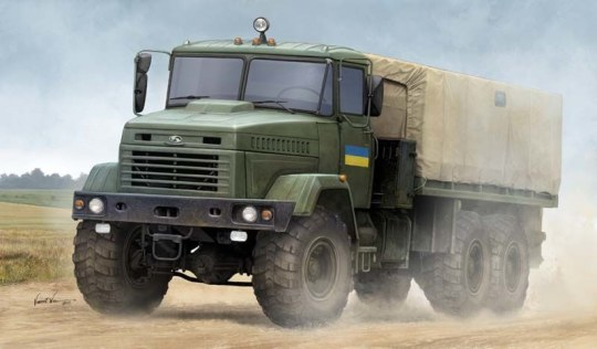 "Hobby Boss - Ukraine KrAZ-6322 ""Soldier"" Cargo Truck"