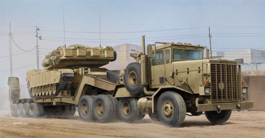 Hobby Boss - M911 C-HET w/m747 Heavy Equipment Semi- Trailer