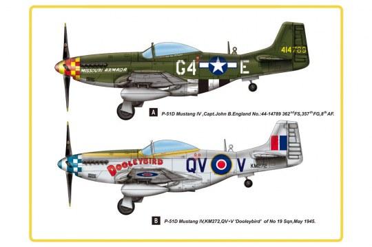 Hobby Boss - P-51D Mustang IV Fighter