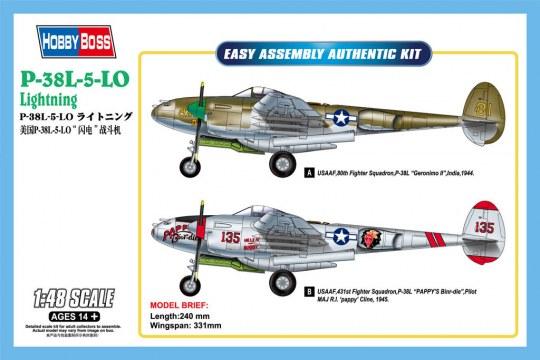 Hobby Boss - P-38L-5-LO Lightning