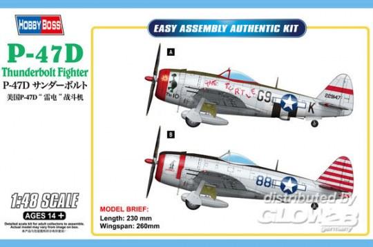 Hobby Boss - P-47D Thunderbolt Fighter 1:48