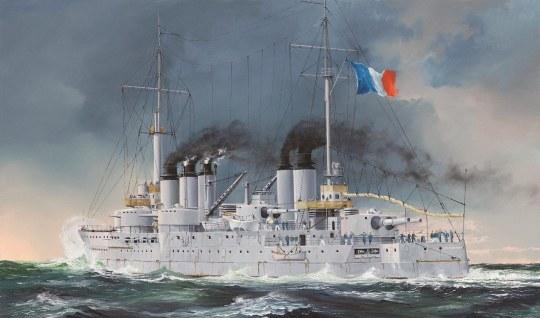 Hobby Boss - French Navy Pre-Dreadnought Battleship Condorcet