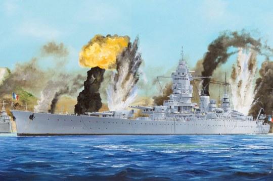 Hobby Boss - French Navy Dunkerque Battleship