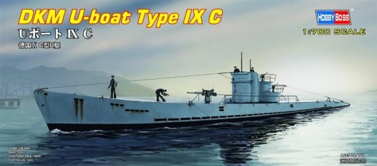 Hobby Boss - DKM U-boat Type IX C