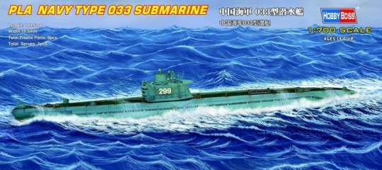 Hobby Boss - PLA  Navy Type 033 submarine