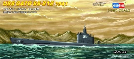 Hobby Boss - USS GATO SS-212 1941