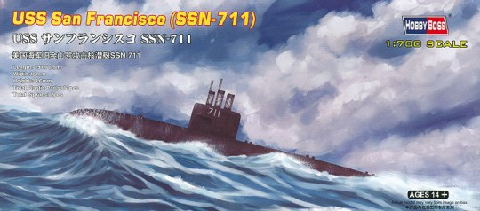 Hobby Boss - USS San Francisco (SSN-711)