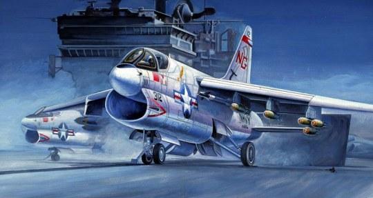 Hobby Boss - A-7A 'CORSAIR' II