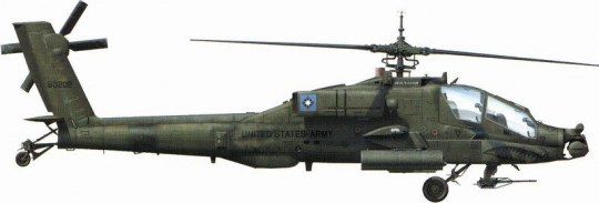 Hobby Boss - AH-64A  Apache Attack Helicopter