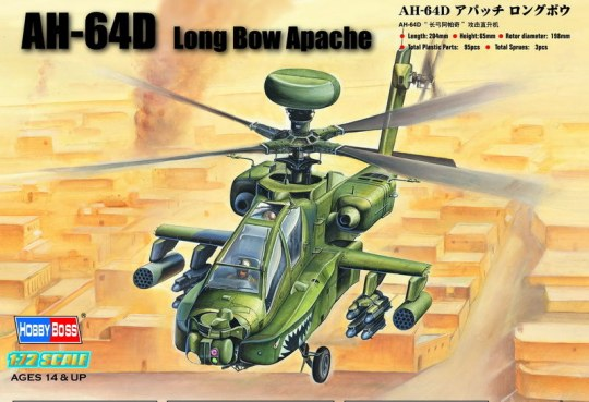 Hobby Boss - AH-64D ''Long Bow Apache''