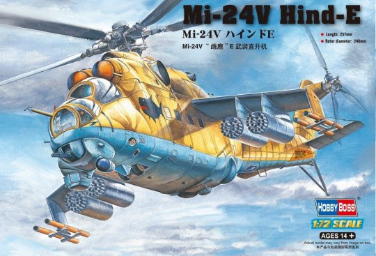 Hobby Boss - Mil Mi-24V  Hind-E