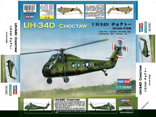 Hobby Boss - American UH-34D ''Choctaw''