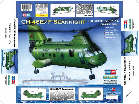 Hobby Boss - American CH-46F ''sea knight''