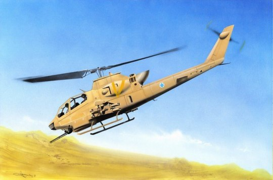 Hobby Boss - AH-1F Cobra Attack Helicopter