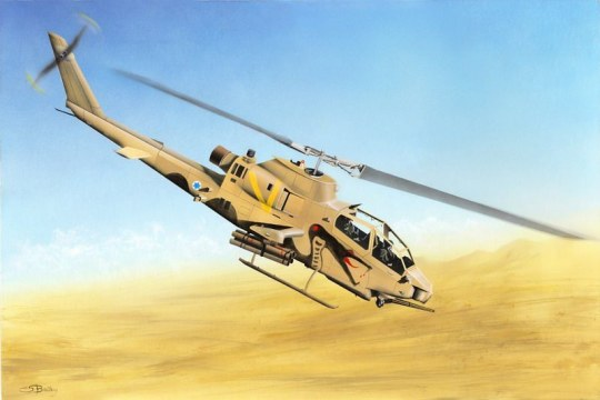 Hobby Boss - AH-1S Cobra Attack Helicopter