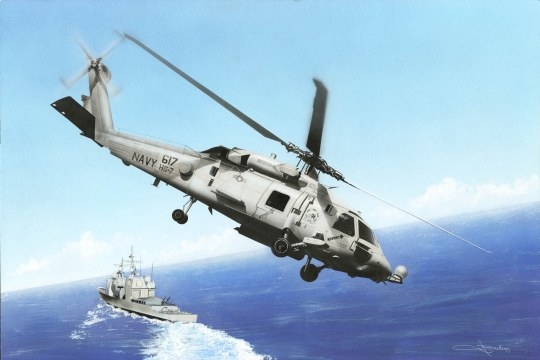 Hobby Boss - HH-60H Rescue hawk (Late Version)