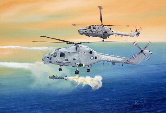 Hobby Boss - Royal Navy Lynx HMA.8 (''Super Lynx')