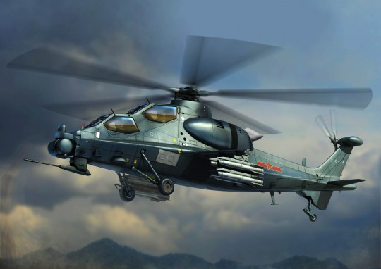 Hobby Boss - Chinese Z-10 Attack Helicopter