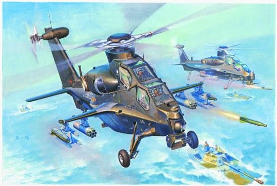 Hobby Boss - WZ-10 Thunderbolt