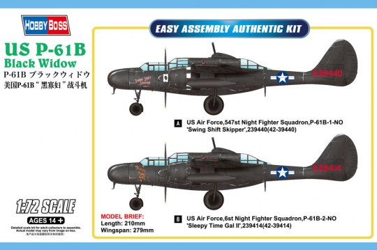 Hobby Boss - US P-61B Black Widow