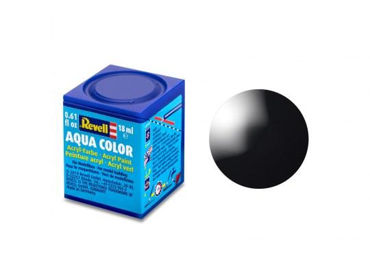 Aqua Color Schwarz, glänzend, 18ml, RAL 9005