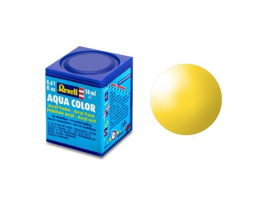 Aqua Color Jaune brillant, 18ml, RAL 1018