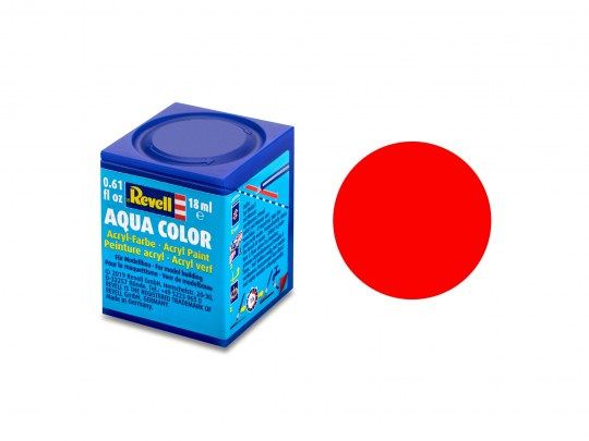 Aqua Color, Luminous Orange, Matt, 18ml