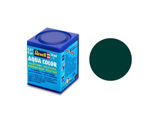 Aqua Color Schwarzgrün, matt, 18ml