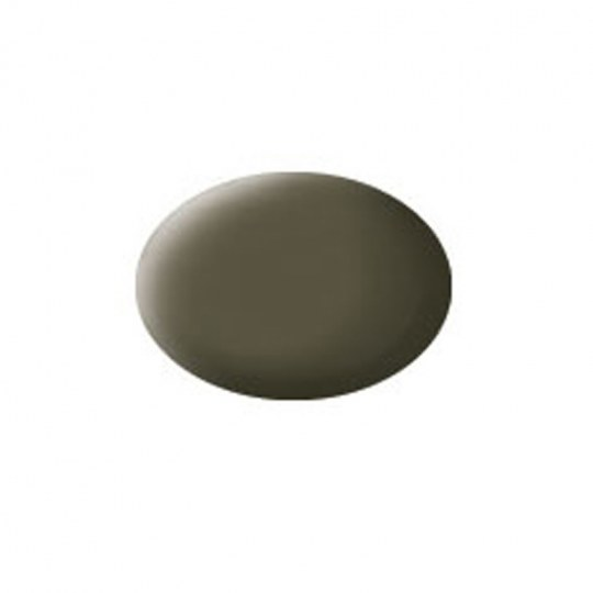 Aqua Color, NATO Olive, Matt, 18ml, RAL 7013